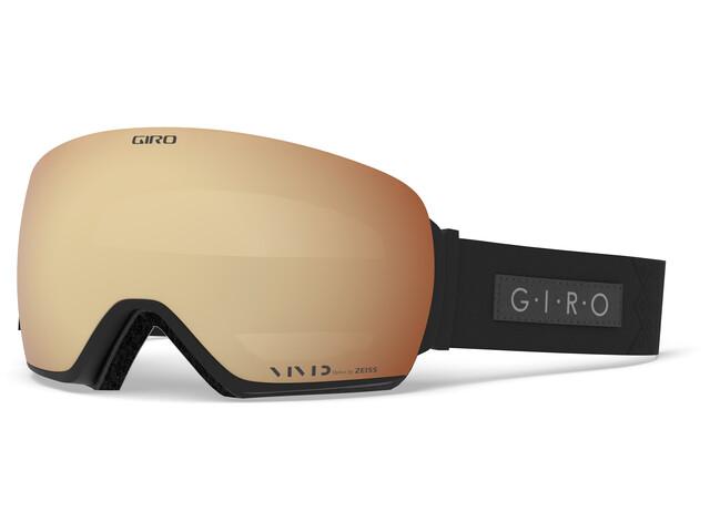 Giro Lusi Uimalasit Naiset, black velvet/vivid copper/vivid infrared